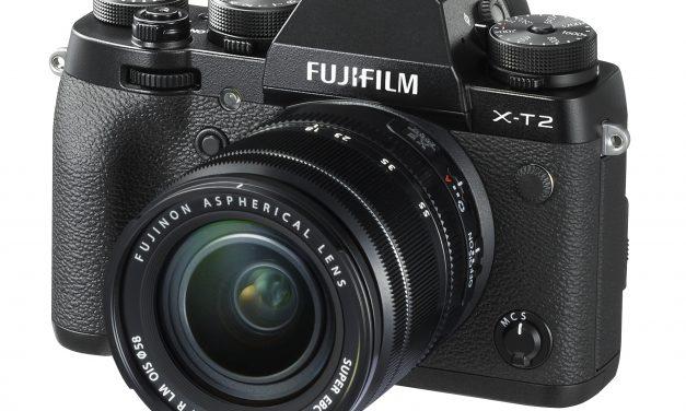 Fujifilm kondigt de X-T2 met 325 autofocus punten en 4K filmen aan