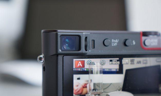 Panasonic TZ100 – de eerste indruk van deze super-reis-compact