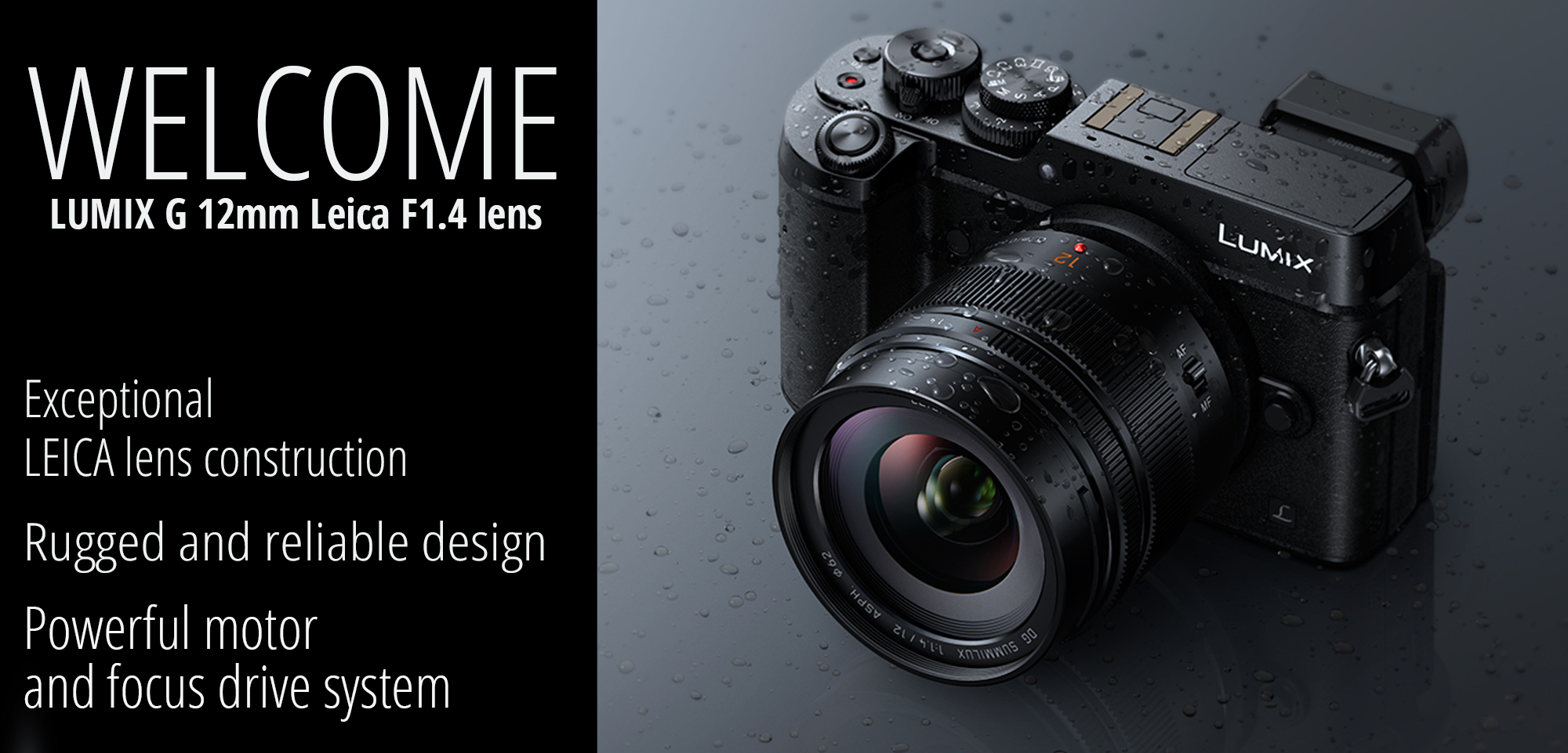 Panasonic Leica 12mm dustproof