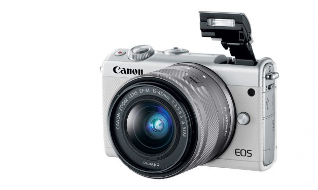 Nieuw en spiegelloos: De Canon EOS M100, stijlvol en connected!