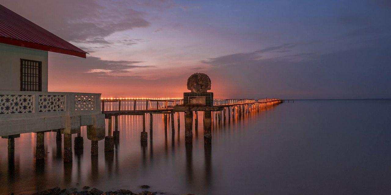 De pier van Telok Tempayak van fotograaf Adrian Choo